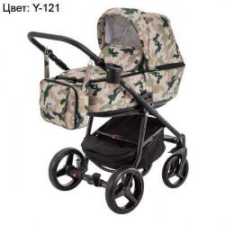 Y-121 - Детская коляска Adamex Reggio 3 в 1