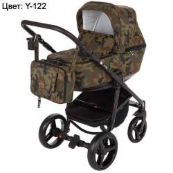 Y-122 - Детская коляска Adamex Reggio 3 в 1
