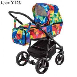 Y-123 - Детская коляска Adamex Reggio 3 в 1
