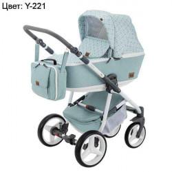 Y-221 - Детская коляска Adamex Reggio 3 в 1