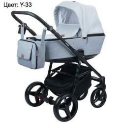 Y-33 - Детская коляска Adamex Reggio 3 в 1