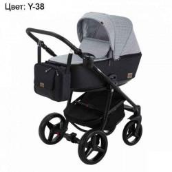 Y-38 - Детская коляска Adamex Reggio 3 в 1