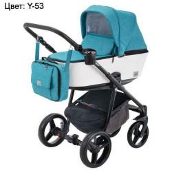 Y-53 - Детская коляска Adamex Reggio 3 в 1