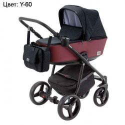 Y-60 - Детская коляска Adamex Reggio 3 в 1