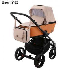 Y-62 - Детская коляска Adamex Reggio 3 в 1
