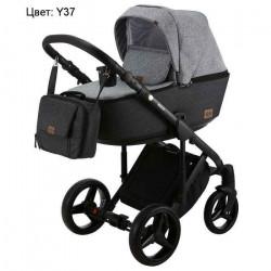 Y37 - Детская коляска Adamex Riccio 3 в 1