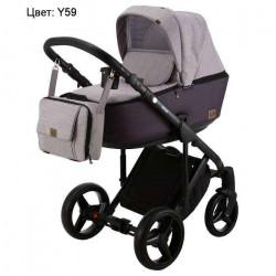 Y59 - Детская коляска Adamex Riccio 3 в 1