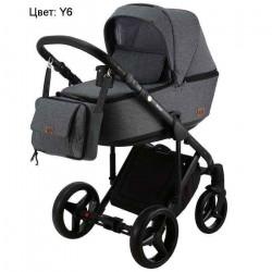 Y6 - Детская коляска Adamex Riccio 3 в 1