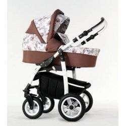 05 коричневый - Детская коляска Amadeus Bloom 2 в 1