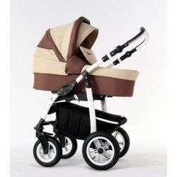 04 коричнево-бежевый - Детская коляска Amadeus Bloom 2 в 1
