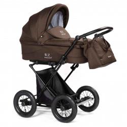Brown - Детская коляска BEBIZARO CLASSIC (люлька)