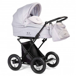 Silver - Детская коляска BEBIZARO CLASSIC (люлька)