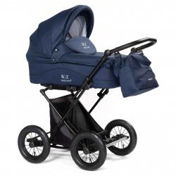 Blue - Детская коляска BEBIZARO CLASSIC (люлька)
