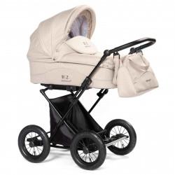 Beige - Детская коляска BEBIZARO CLASSIC (люлька)