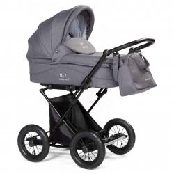 Gray - Детская коляска BEBIZARO CLASSIC (люлька)