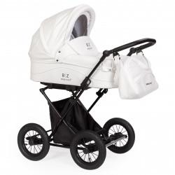 White - Детская коляска BEBIZARO CLASSIC (люлька)