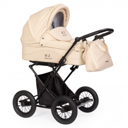 Cream - Детская коляска BEBIZARO CLASSIC (люлька)