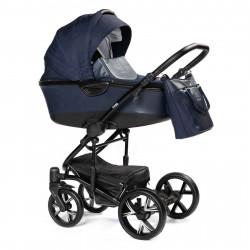 Blue - Детская коляска BEBIZARO CROSS 2 в 1