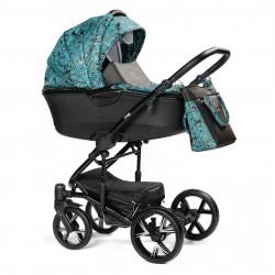 Turquoise - Детская коляска BEBIZARO CROSS 2 в 1