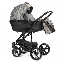 Gray - Детская коляска BEBIZARO CROSS 2 в 1