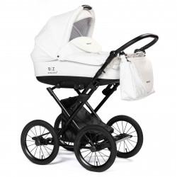 White - Детская коляска BEBIZARO  MERCED (люлька)