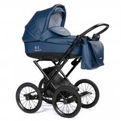Blue - Детская коляска BEBIZARO  MERCED (люлька)