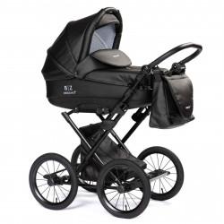 Black - Детская коляска BEBIZARO  MERCED (люлька)