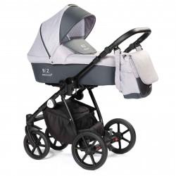 Gray - Детская коляска BEBIZARO REMY 2 в 1