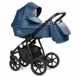 Blue - Детская коляска BEBIZARO REMY 2 в 1