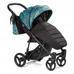 Turquoise - Детская коляска BEBIZARO TWEED прогулочная