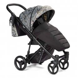 Gray - Детская коляска BEBIZARO TWEED прогулочная