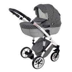 Grey - Baby World Prometheus 2 в 1 ALU NEW