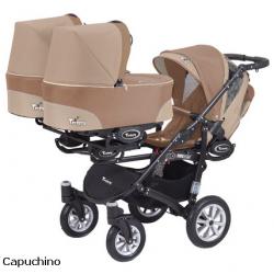 Cappuccino -  Коляска BabyActive Trippy (2 в 1)