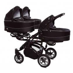 07 Black - Детская коляска BabyActive Trippy (2 в 1)