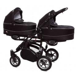 07 Black - Детская коляска BabyActive Twinny (2 в 1)