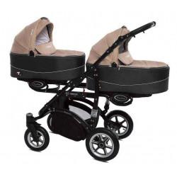 12 Beige - Детская коляска BabyActive Twinny (2 в 1)
