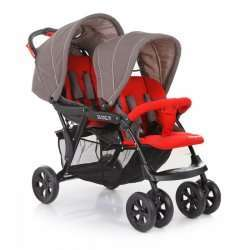 red - Babycare Tandem