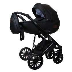 Black - Детская коляска Bruca Olivia 3 в 1