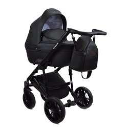 Black - Детская коляска Bruca Onyx 3 в 1