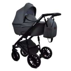 Gray - Детская коляска Bruca Onyx 3 в 1
