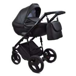 Black - Детская коляска Bruca Spirit 3 в 1