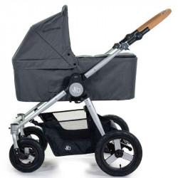 DawnGreySingleBassinet - Детская коляска Bumbleride Era 2 в 1