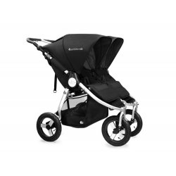 Silver Black - Детская коляска Bumbleride Indie Twin Carrycot (2 в 1)