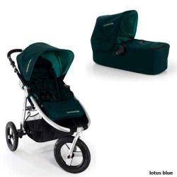 lotus blue - Детская коляска Bumbleride Indie Carrycot (2 в 1)