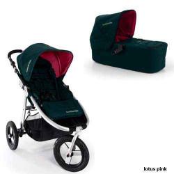 lotus pink - Детская коляска Bumbleride Indie Carrycot (2 в 1)