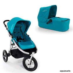 aquamarin - Детская коляска Bumbleride Indie Carrycot (2 в 1)