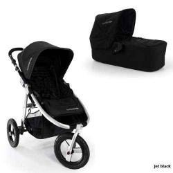 jet black - Детская коляска Bumbleride Indie Carrycot (2 в 1)