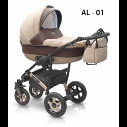 01 - Детская коляска Camarelo Alicante (2 в 1)