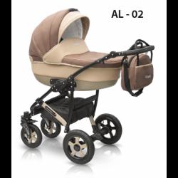 02 - Детская коляска Camarelo Alicante (2 в 1)
