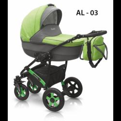 03 - Детская коляска Camarelo Alicante (2 в 1)